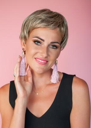 Peruka Joanna gołębi blond