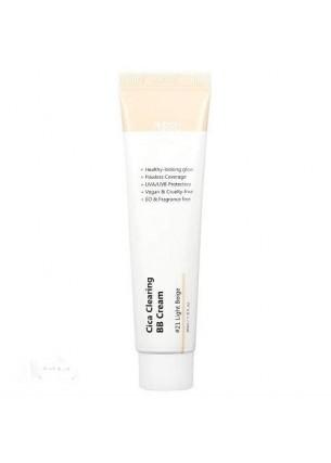 Cica Clearing BB Cream - Krem BB z wyciągiem z wąkroty azjatyckiej - 21 Light Beige, 30 ml