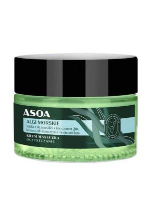 Krem-maseczka do twarzy - Algi Morskie, 50 ml