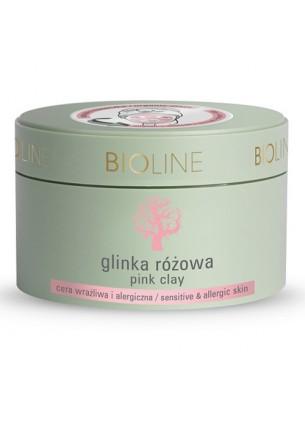 Bioline Glinka różowa, 150 g