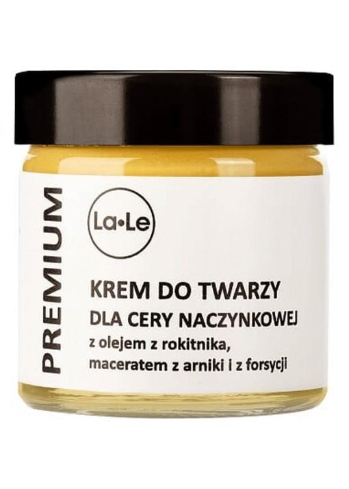 La-Le Kosmetyki Krem do twarzy dla cery naczynkowej z olejem z rokitnika, 60 ml